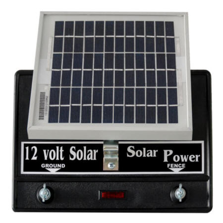 Silver Streak Solar Power Fence Charger