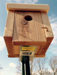 T-Post Bracket - Bird House Mounting